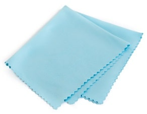 Clean inside with cloth