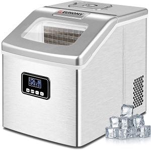 Euhomy Compact Clear Ice Maker