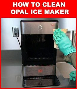 How To Clean Opal Ice Maker