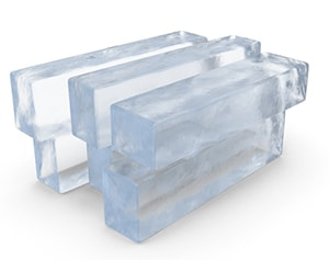 Make Block Ice For Coolers