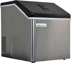 NewAir Clear Ice Maker For Home Bar