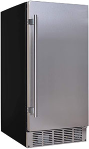 Good looking under cabinet nugget ice maker