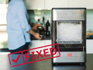 GE ice maker not working