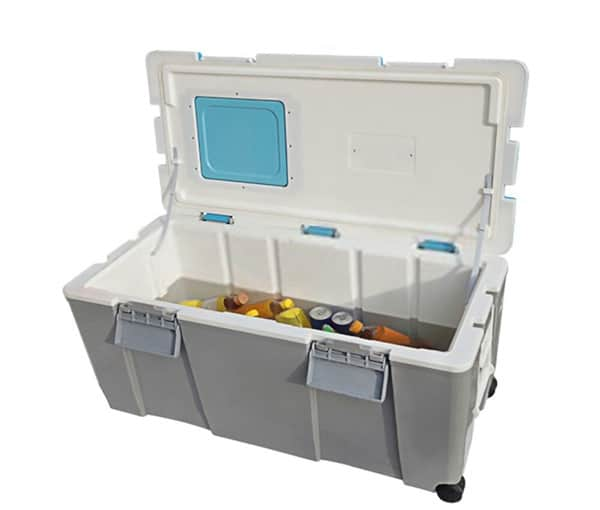 Keep a ice cooler cold without ice