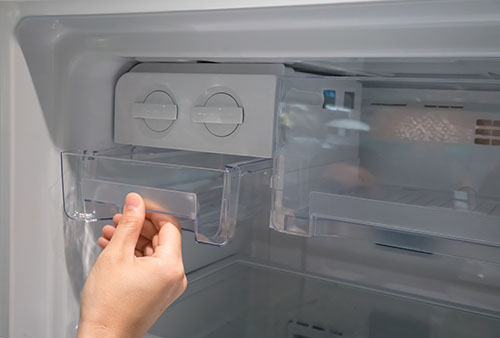 Clean and sanitize ice maker